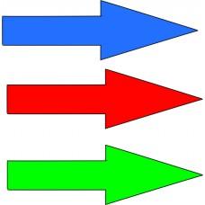 Puščice za označevanje cevovodov