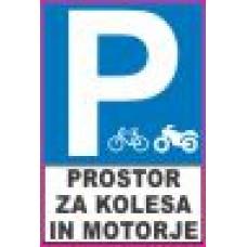 Parkiranje - Prostor za kolesa in motorje