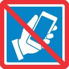 Prepovedana uporaba telefona