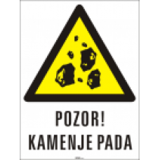Pozor! Kamenje pada