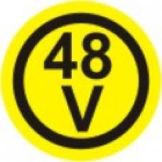 EL-48V - pola 6 nalepk