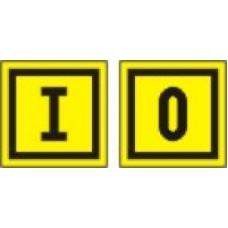 EL-IO - pola 6 nalepk