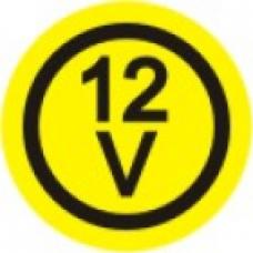 EL-12V - pola 6 nalepk