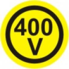 EL-400V - pola 6 nalepk